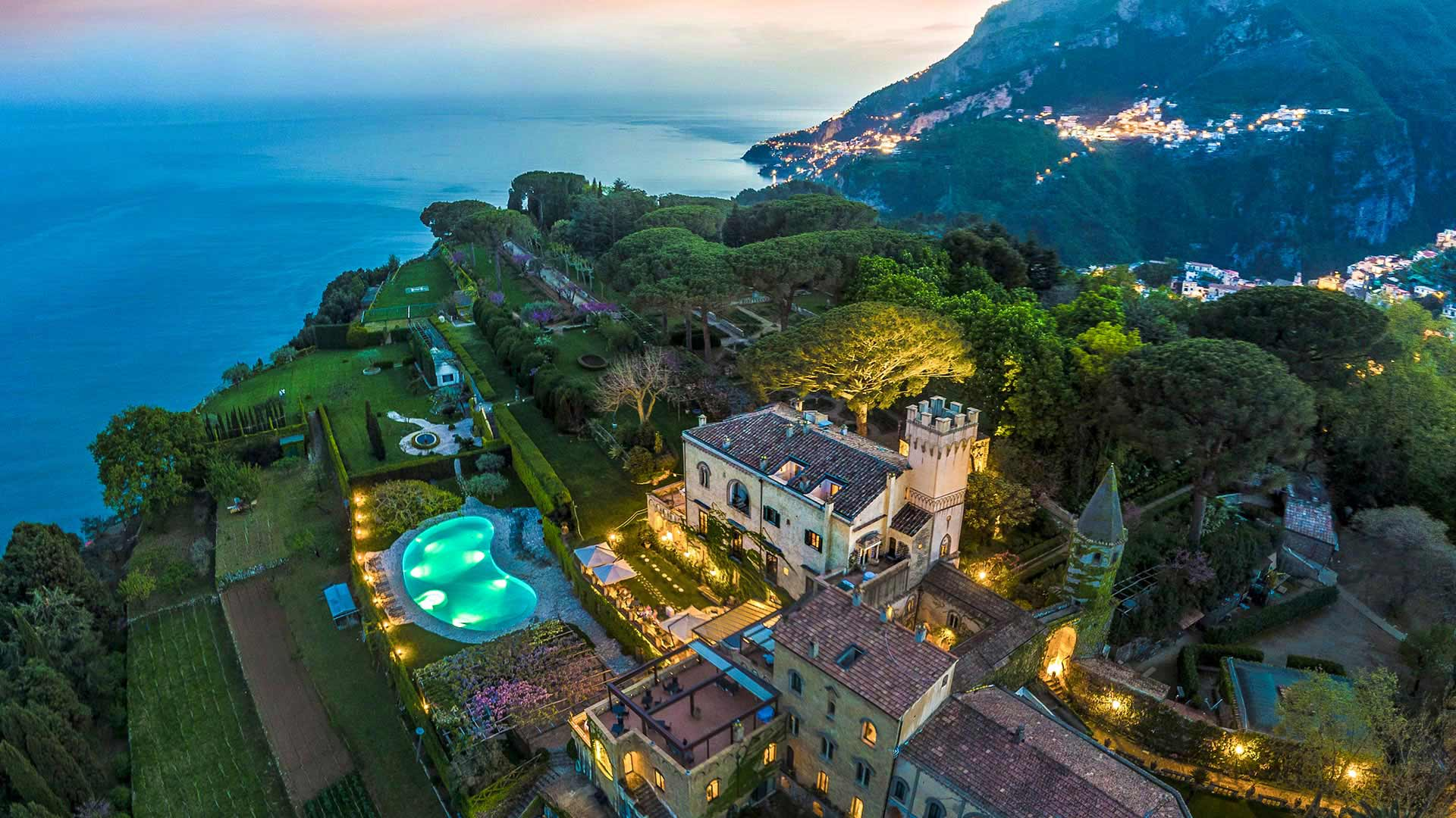 Hotel Villa Cimbrone   Ravello   Amalfi Coast   Italy